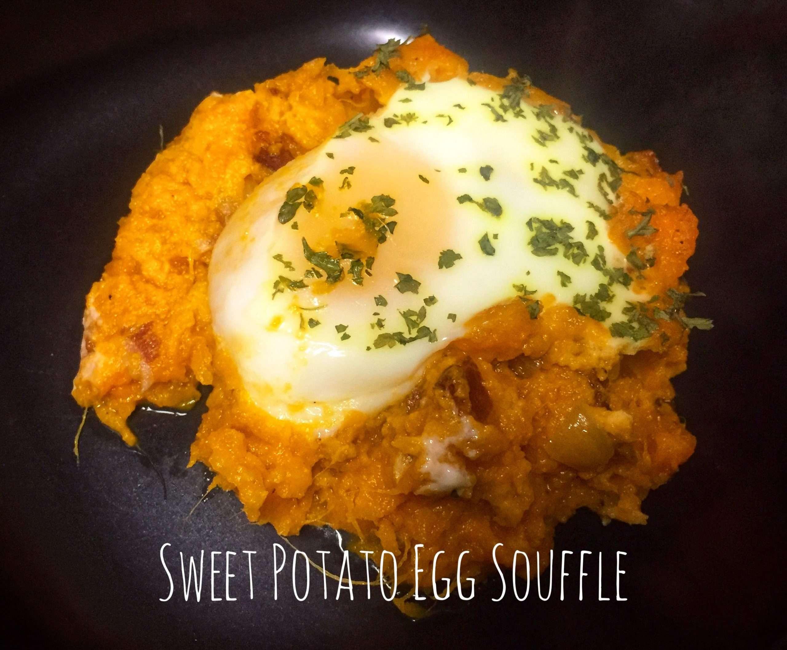 Sweet Potato Egg Souffle