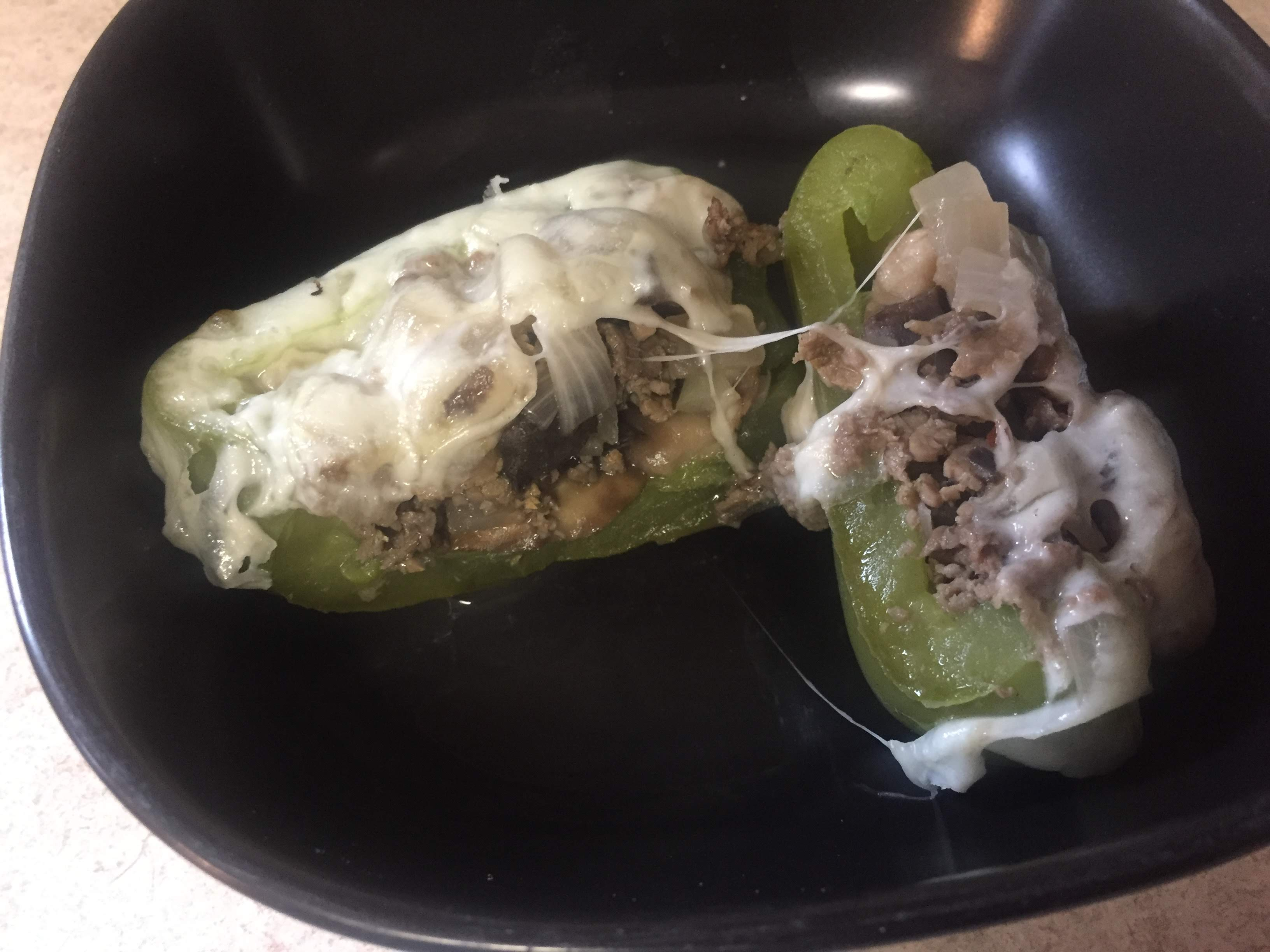 Italian Beef Stuffed Peppers (Low Carb) – Recipe