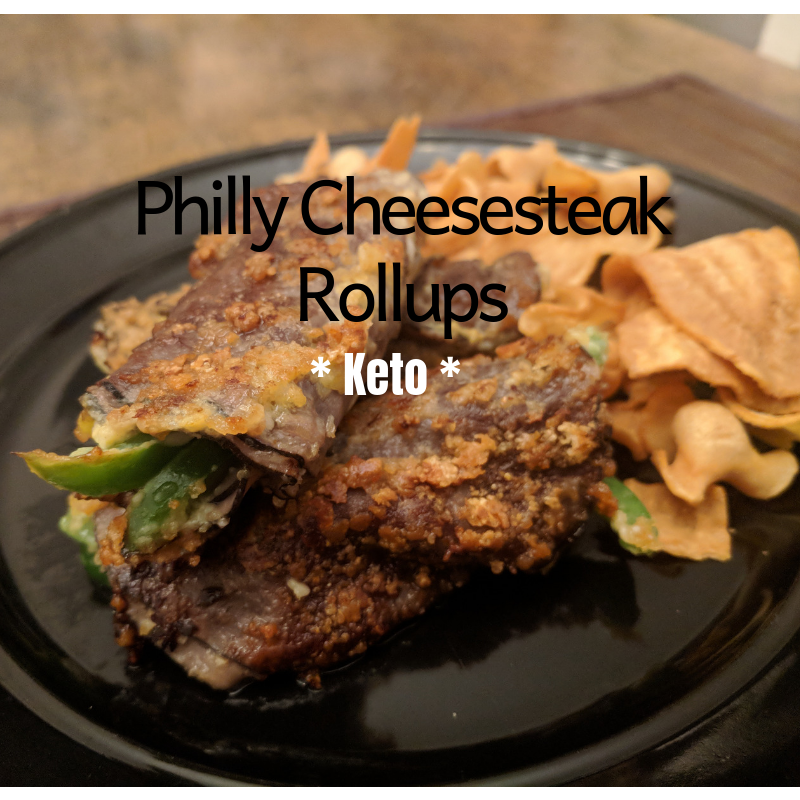 Philly Cheesesteak Keto Rollups – Recipe