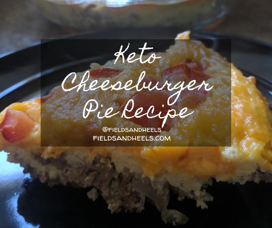 Keto Cheeseburger Pie – recipe