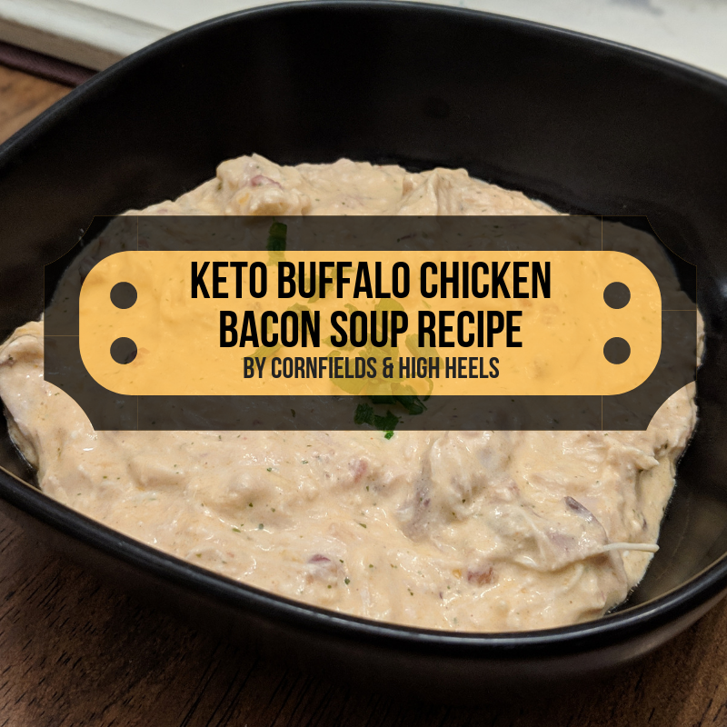 Keto Buffalo Chicken Bacon Soup – recipe