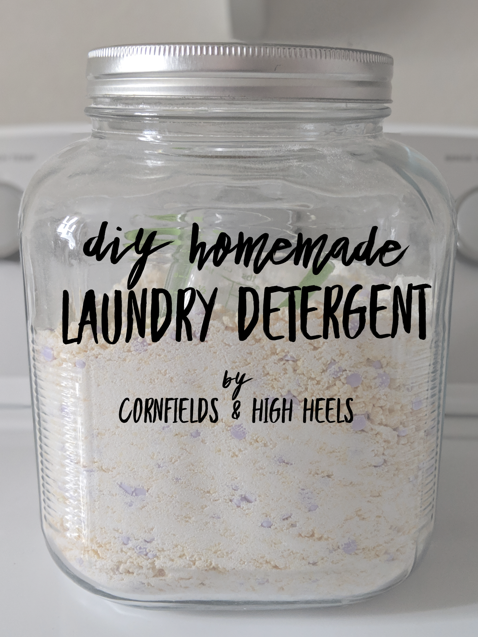 DIY Homemade Laundry Detergent – recipe