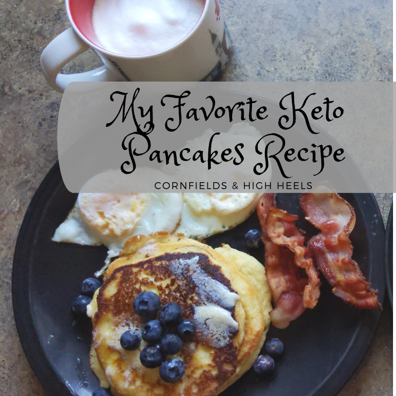 My Favorite Keto Pancakes – recipe